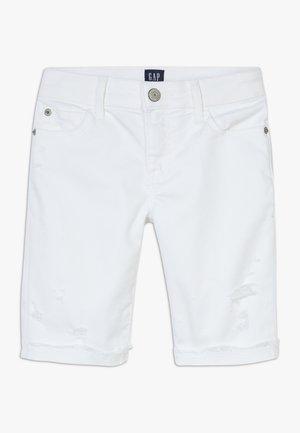 GIRL  - Denim shorts - white