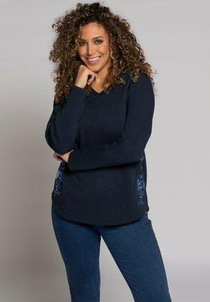 Sweatshirt - bleu marine
