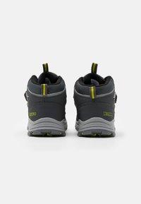 Kappa - HOVET TEX UNISEX - Hiking shoes - grey/lime - 2