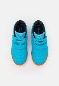 Kappa - KICKOFF UNISEX - Sports shoes - azur/black - 3
