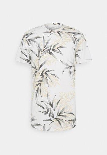 JJPOP TEE CREW NECK - Print T-shirt - cloud dancer
