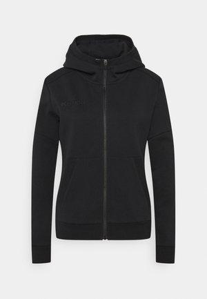 STATUS HOOD JACKET WOMEN - Zip-up sweatshirt - black