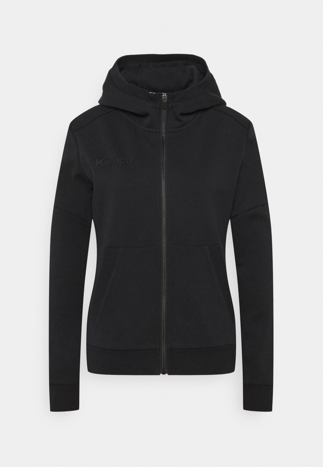STATUS HOOD JACKET WOMEN - Mikina na zip - black