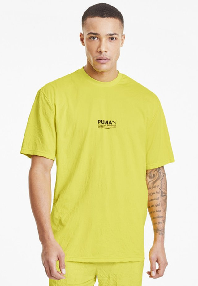 AVENIR CRINKLE  - T-Shirt print - meadowlark