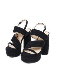 MIM Shoes - HALO - High heeled sandals - black - 1