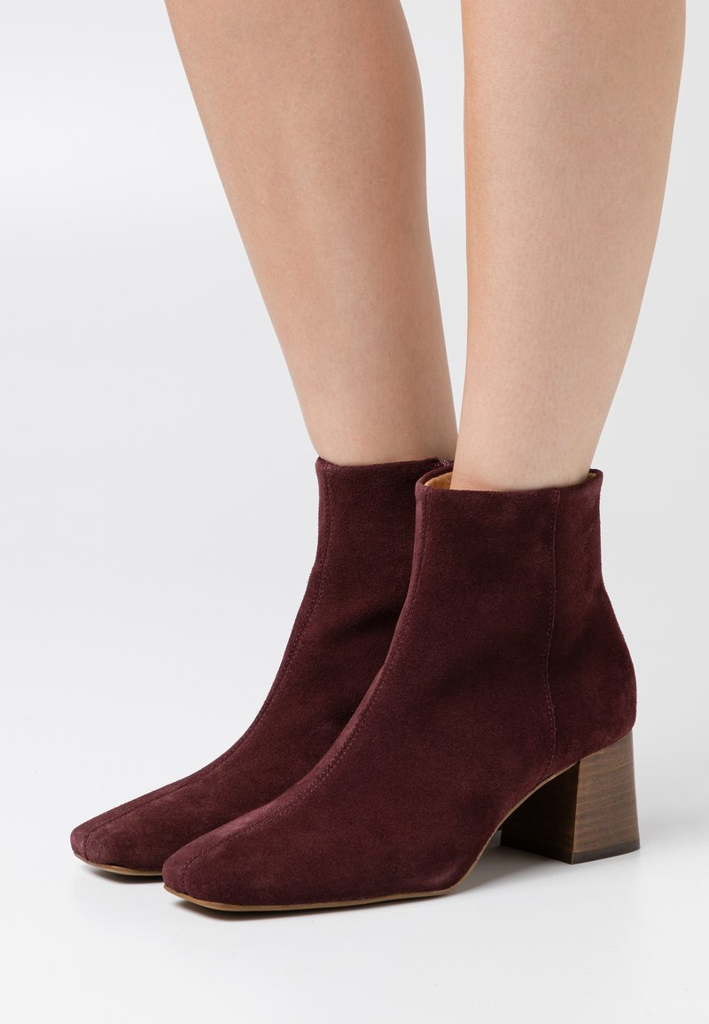 Zign - Ankle boots - bordeaux