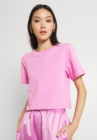 adidas Originals - CROPPED TEE - Basic T-shirt - bliss orchid - 3
