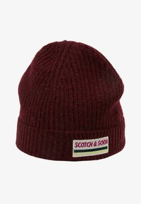 Scotch & Soda - BEANIE IN SOFT - Mütze - barbera - 4