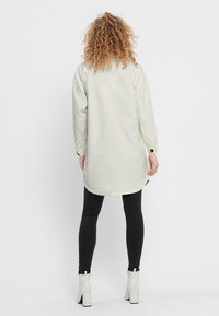 JDY - JDYSLAM WORKER POCKET - Button-down blouse - oatmeal - 2
