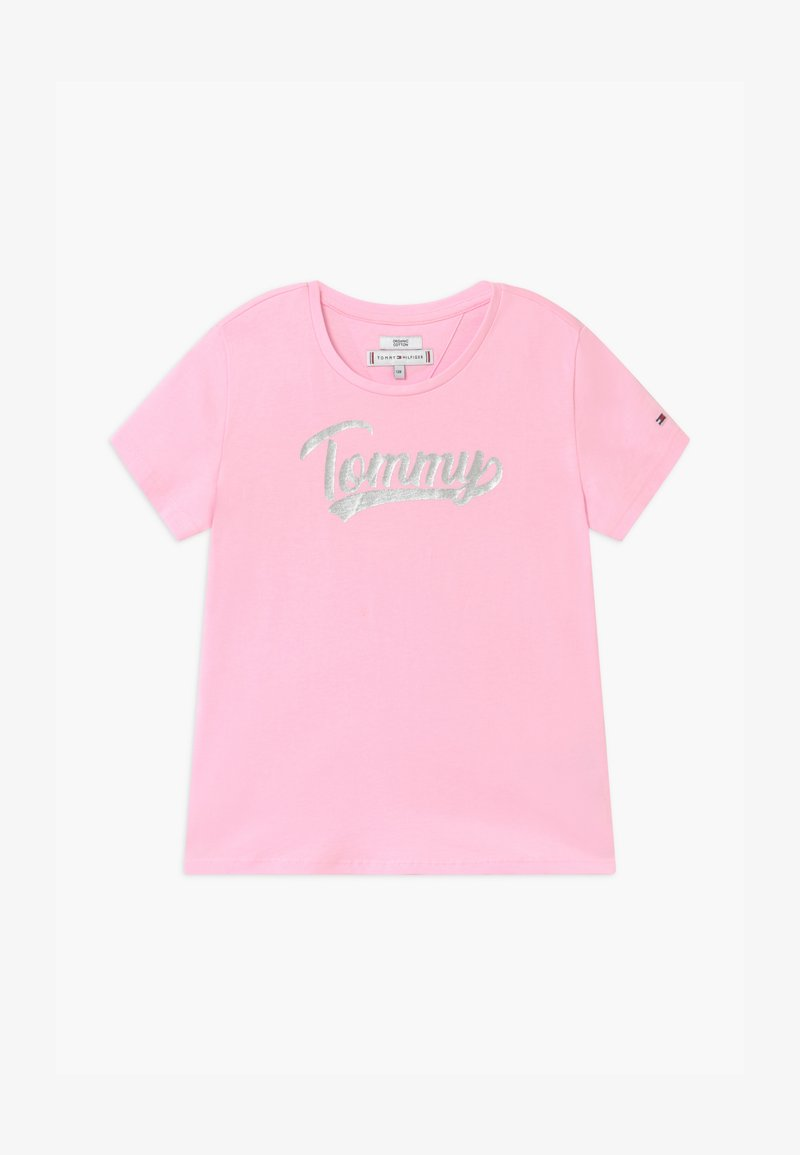 Tommy Hilfiger - FOIL - T-shirt con stampa - pink