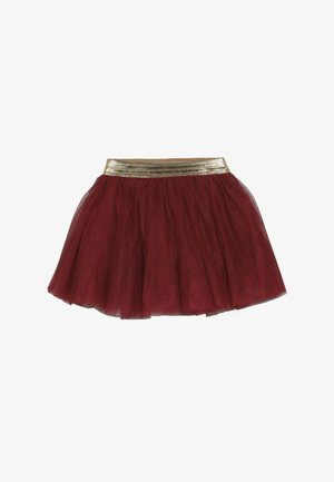 NMFTULLU SKIRT - Mini skirt - biking red