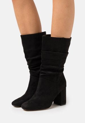 BLOCK BOOT - Boots - black