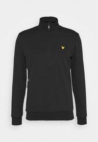 WINDSHIELD 1/2 ZIP MIDLAYER - Sweatshirt - true black