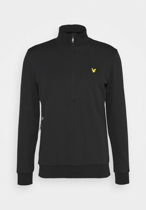 WINDSHIELD 1/2 ZIP MIDLAYER - Sweatshirt - true black