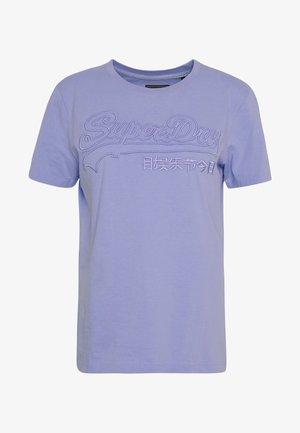 OUTLINE ENTRY TEE - T-Shirt print - blue heron