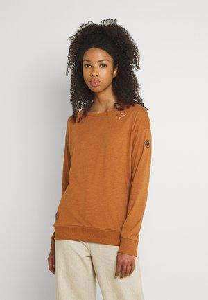NEREA - Long sleeved top - cinnamon