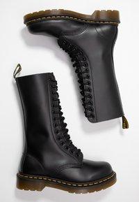 Dr. Martens - 1914 - Šněrovací vysoké boty - black smooth - 3