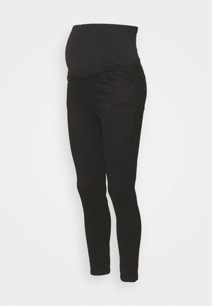 MATERNITY CROPPED - Jeans Skinny Fit - black