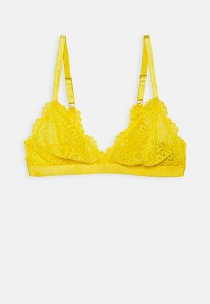EVERYNIGHT BRA WITH SIDES - Triangle bra - yellow