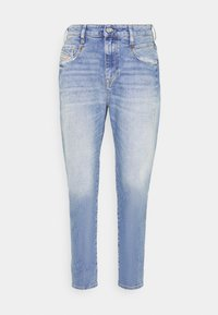 Diesel - D-FAYZA - Relaxed fit jeans - indigo - 0