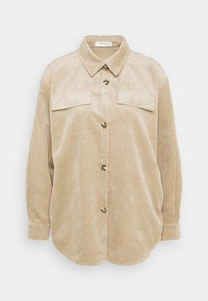 CHARIS JEPPI OVERSHIRT - Button-down blouse - white pepper