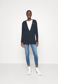 Abercrombie & Fitch - ICON CARDI - Cardigan - navy - 1