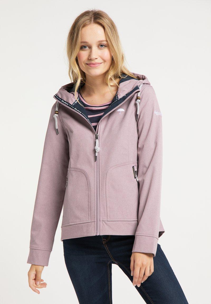 Schmuddelwedda - Outdoor jacket - altrosa melange