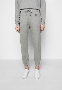 Pinko - ENOLOGIA - Tracksuit bottoms - grey - 0