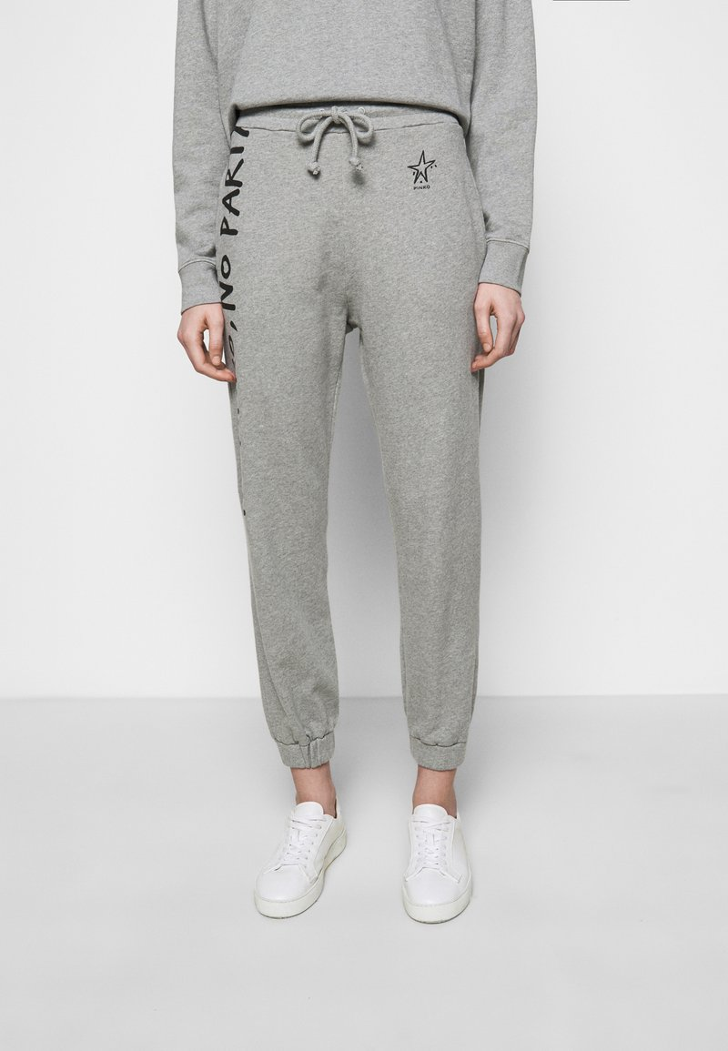 Pinko - ENOLOGIA - Tracksuit bottoms - grey