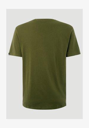 NOAH - Print T-shirt - grun