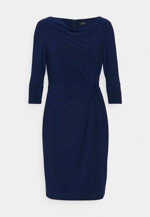 TRAVA SLEEVE DAY DRESS - Jerseyklänning - twilight royal