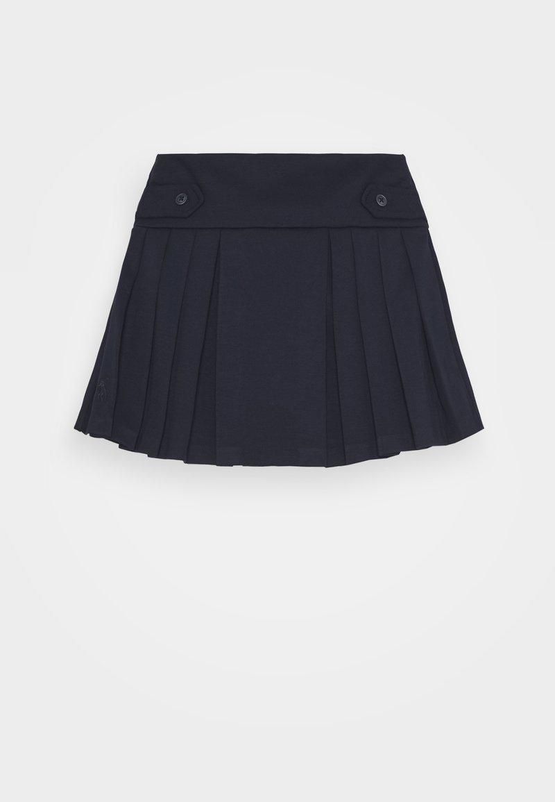 Polo Ralph Lauren - PLEAT BOTTOMS SKIRT - Falda acampanada - navy