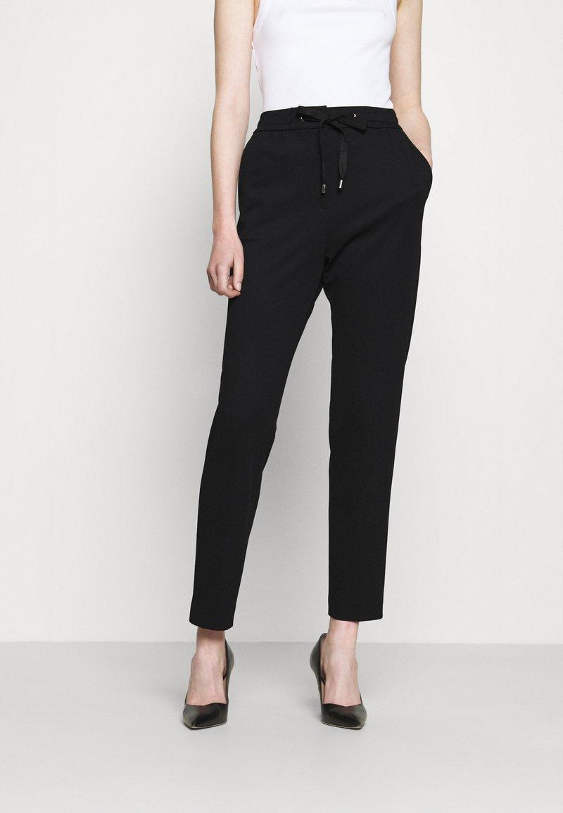 HUGO - HONESI - Kalhoty - black
