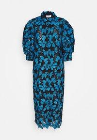 BARBARA - Blusenkleid - pacific blue
