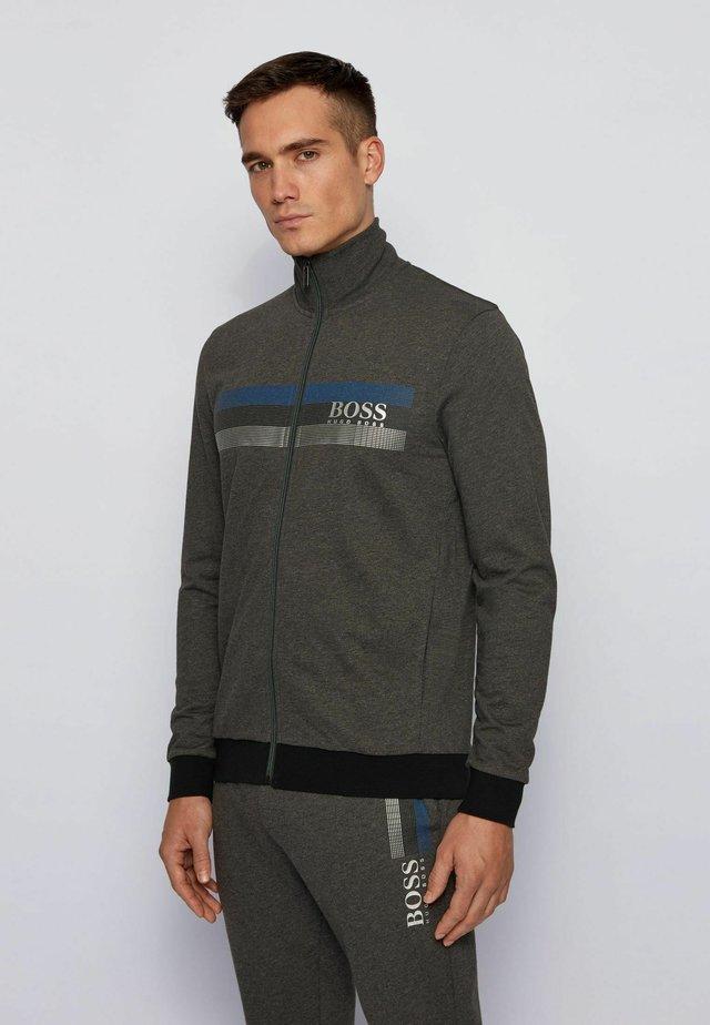 AUTHENTIC - Zip-up hoodie - dark grey