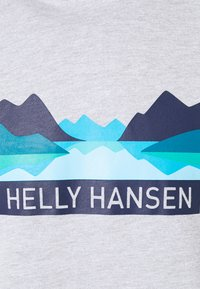 Helly Hansen - NORD GRAPHIC HOODIE - Sweatshirt - grey melange - 2