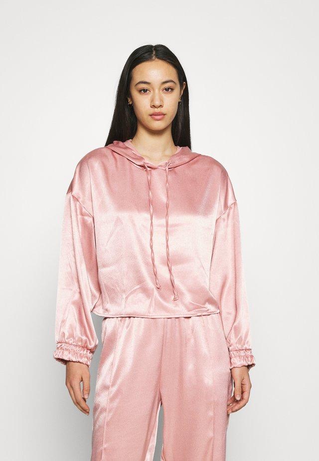HANI HOODIE - Long sleeved top - pink