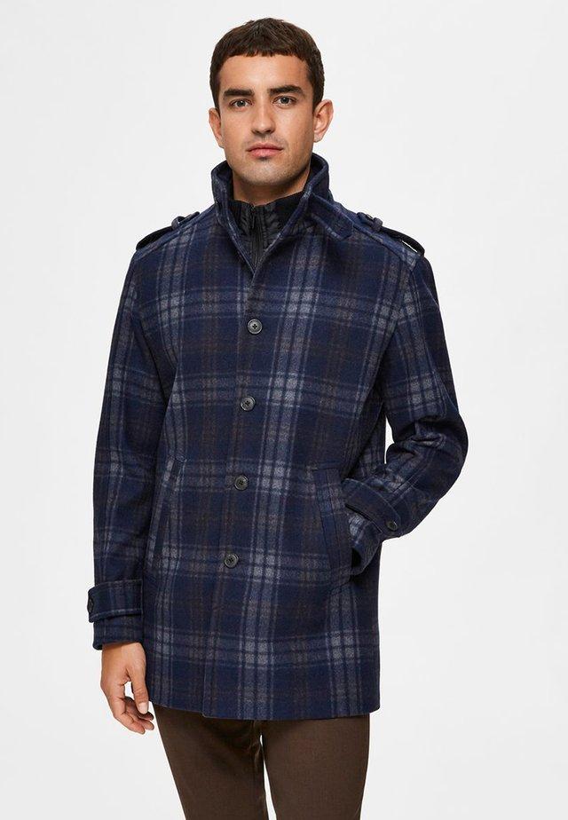 SLHNOAH COAT - Classic coat - dark navy