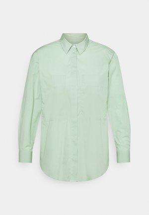 KARA - Button-down blouse - sage green