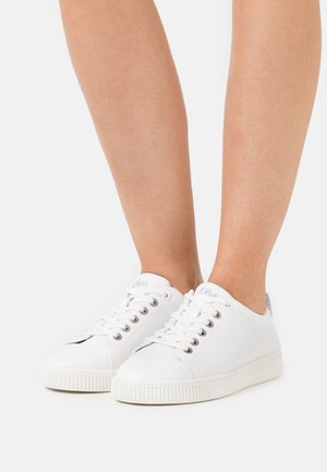 Sneakers laag - white/sky blue