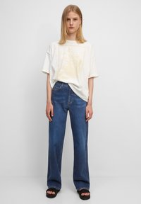 Marc O'Polo DENIM - Straight leg jeans - multi/clean cobalt dark blue - 1