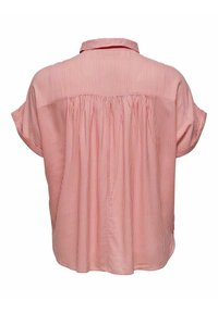 ONLY Carmakoma - CARMAROK LIFE - Button-down blouse - cloud dancer/tea rose - 1