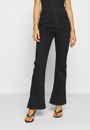 HIGHEST RISE  - Flared Jeans - bold black