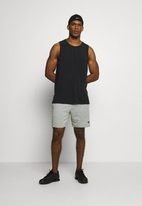 Nike Performance - DRY TANK YOGA - Camiseta de deporte - black/iron grey - 1