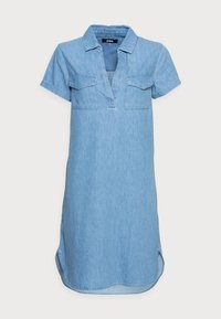 Zign - Denim dress - light blue - 3