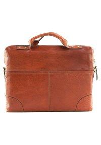 Saddler - Briefcase - midbrown - 1