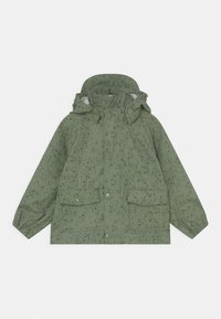 MINI A TURE - JULIEN UNISEX - Waterproof jacket - oil green - 0