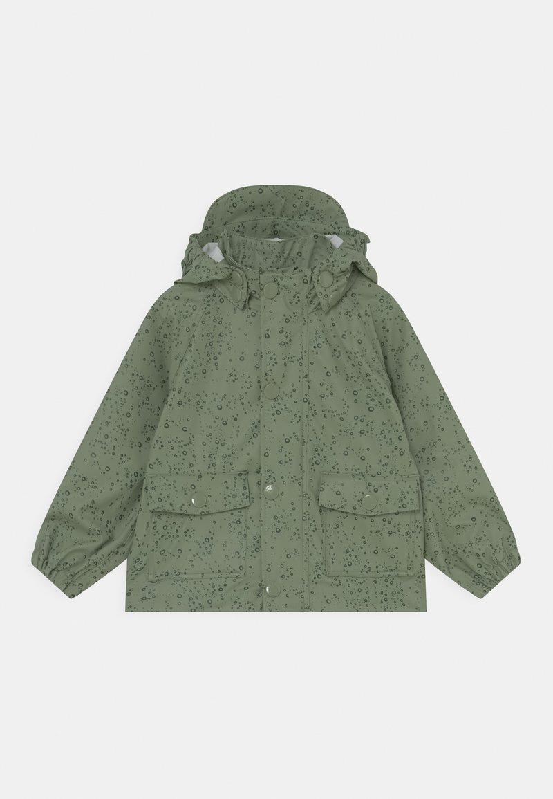 MINI A TURE - JULIEN UNISEX - Waterproof jacket - oil green