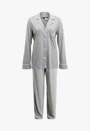 HAMMOND CLASSIC NOTCH COLLAR  - Pyjama set - heather grey