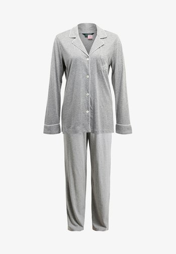 HAMMOND CLASSIC NOTCH COLLAR  - Pyjamas - heather grey